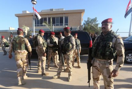 Impacto de cohete en base iraquí no deja víctimas
