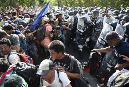 Chiapas: Guardia Nacional frena, repliega y detiene a migrantes