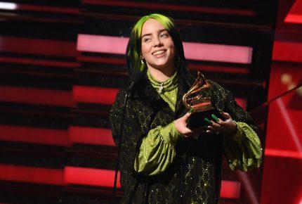 Los Grammy se rinden a Billie Eilish