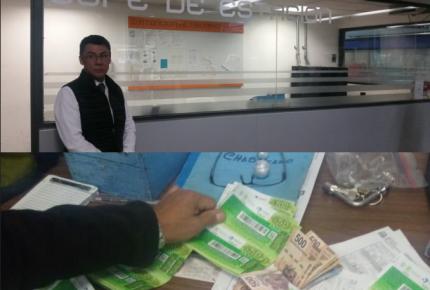 Devuelve cartera con 10 mil pesos que se encontró en el Metro