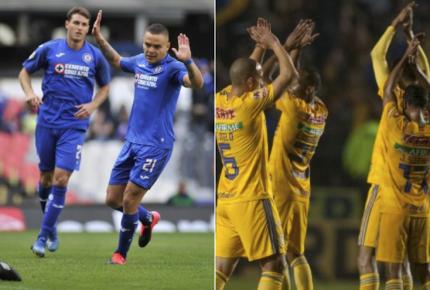Cruz Azul y Tigres respiran con primeros tres puntos