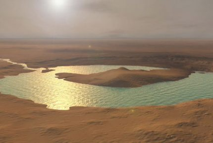 Marte se está quedando sin agua