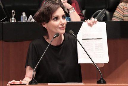 Lilly Téllez deja la bancada de Morena en el Senado