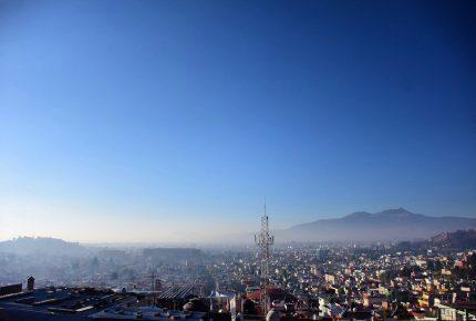 Sigue mala calidad del aire en Toluca y Tianguistenco