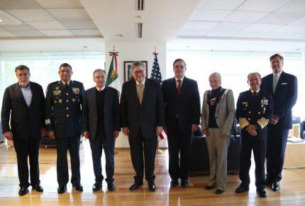 México y EU acuerdan combate al tráfico de drogas y armas