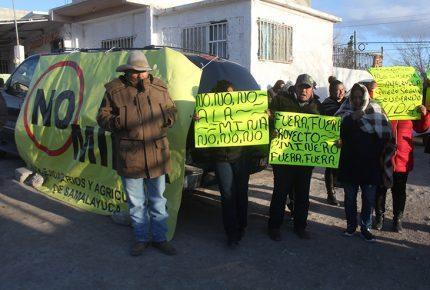 Ante protestas, propone AMLO revisar mina de Samalayuca