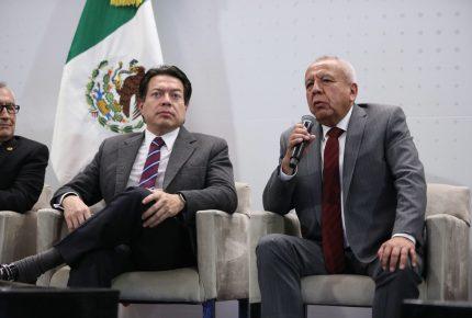 Garduño abre estaciones a ONG entre 'apapacho' de Morena
