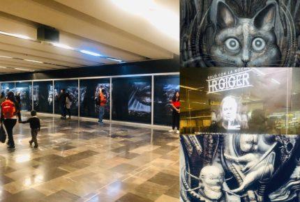 El Metro inaugura la exposición de H.R. Giger, diseñador de 'Alien'