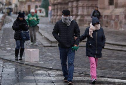 Alertan por bajas temperaturas en todo el país