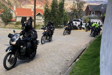 Se registra fuerte operativo en embajada de México en Bolivia