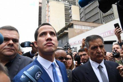 Guaidó acusa 'golpe de Estado parlamentario'