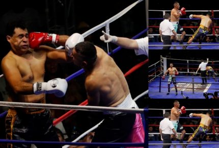Guatemala: dos alcaldes participan en pelea de box