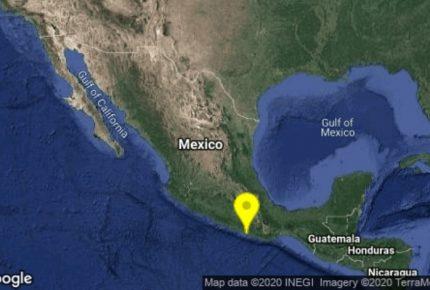 Descartan riesgo de tsunami luego de sismo en Oaxaca