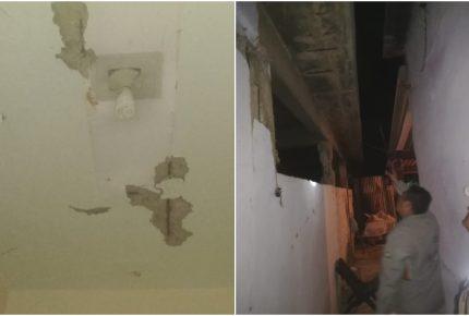 Sismo en Oaxaca deja daños en al menos cinco casas