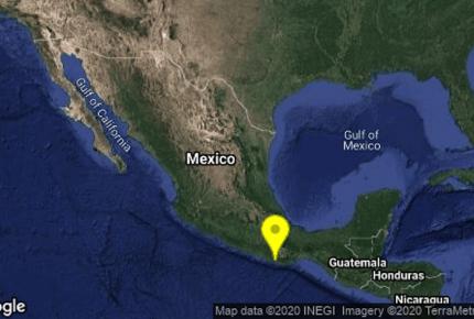 Despierta sismo de magnitud 5.2 a Oaxaca