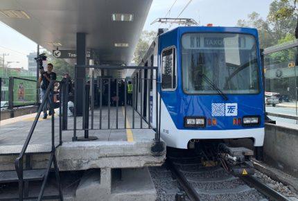 Luego de medio año reanuda servicio el Tren Ligero
