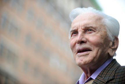 Murió a los 103 años el mítico actor Kirk Douglas
