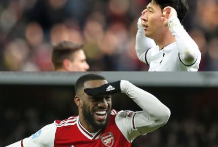 Arsenal y Tottenham pelean puestos de Champions League