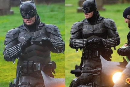 #Fotos | Nuevas imágenes del traje de Batman