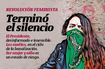 #PORTADA | Revolución feminista: terminó el silencio