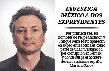 Investiga México a dos expresidentes por caso Lozoya