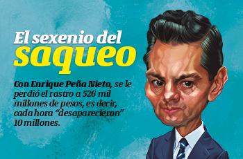 #LaPortada | El sexenio del saqueo