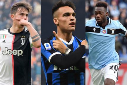 Juventus, Inter y Lazio luchan por la Serie A