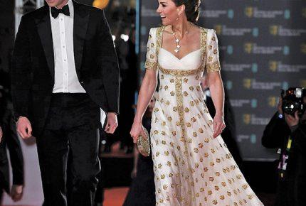 Kate Middleton, la mejor vestida en BAFTA
