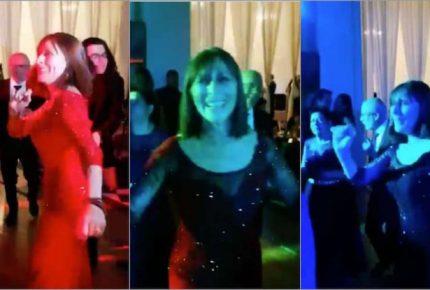 Captan a Tatiana Clouthier al ritmo del tema de Morena