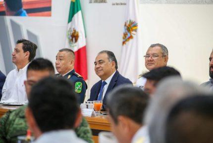 Astudillo reconoce labor del  Ejército en Guerrero