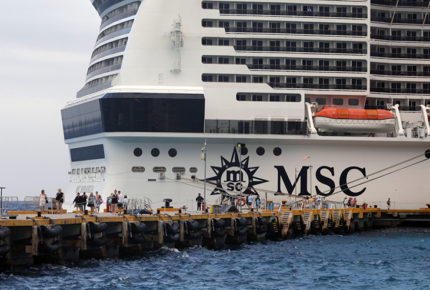 Descartan coronavirus en pasajeros de crucero en Cozumel