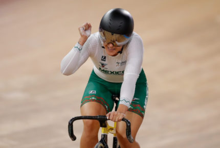Jessica Salazar gana la plata en 500 m en Mundial de ciclismo en pista