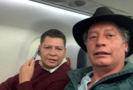 Arriban a México dos excolaboradores de Evo Morales