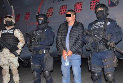 Cae presunto operador del cártel Santa Rosa de Lima