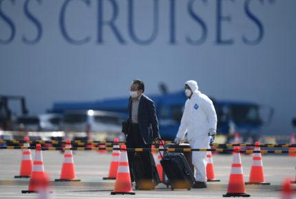 Desembarcan crucero en Japón; hay 621 casos de coronavirus