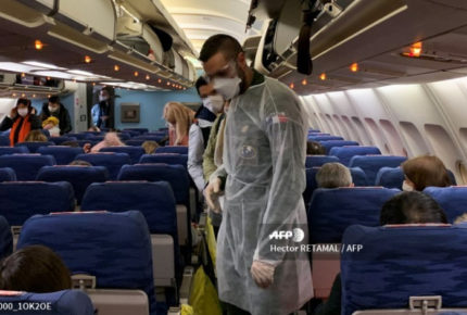 Finaliza cuarentena de mexicanos en Francia por coronavirus