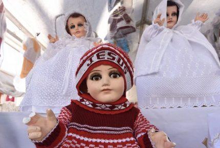 ¿Cuánto cuesta vestir al Niño Dios gigante de Zacatecas?