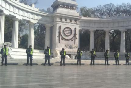 Blindan la CDMX ante protestas de este viernes