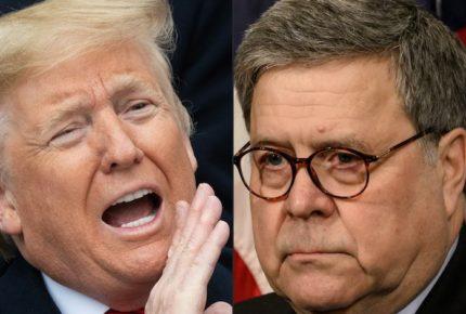 """""""Tengo derecho"""", responde Trump a Barr por críticas de tuits"""