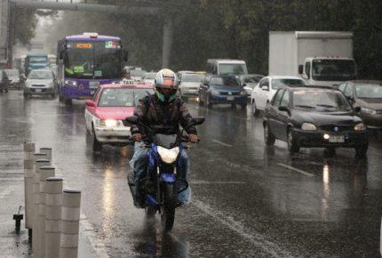 Se esperan fuertes lluvias en gran parte del país