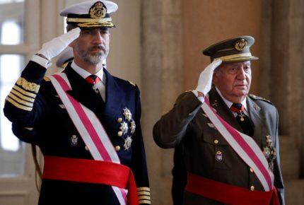Rey Felipe VI renuncia a la herencia del rey emérito Juan Carlos