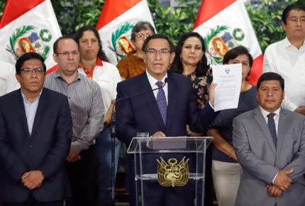 Perú declara emergencia y cierre fronteras por Covid-19