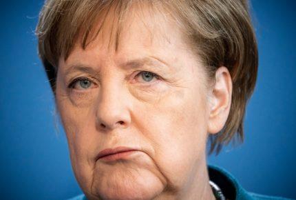 La canciller alemana Angela Merkel se pone en cuarentena