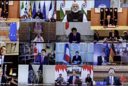 El G20 inyecta 5 bdd a la economía para enfrentar el Covid-19