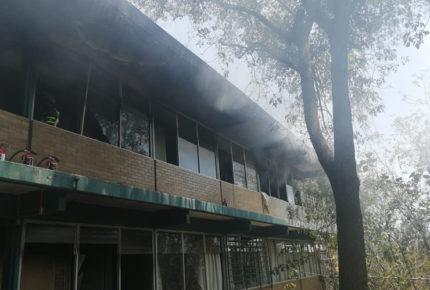 Sofocan incendio en CCH Sur; se desconoce magnitud de daños