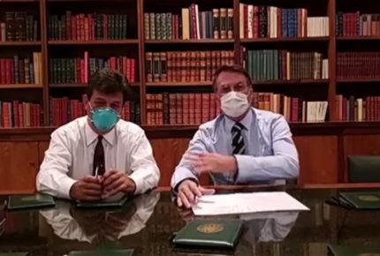 Bolsonaro espera resultado de pruebas por coronavirus