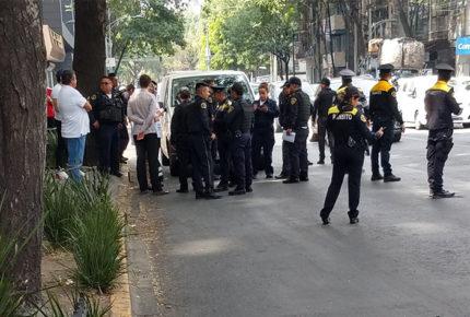 Se registra balacera cerca de Torre Diana; hay un lesionado