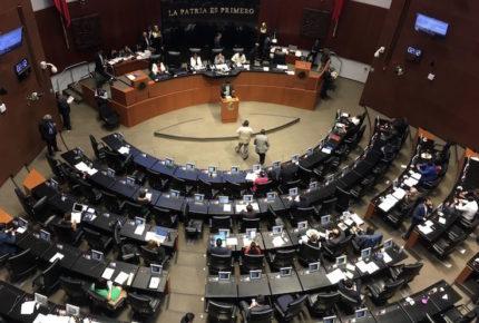 Aprueban comisiones del Senado dictámenes para armonizar T-MEC