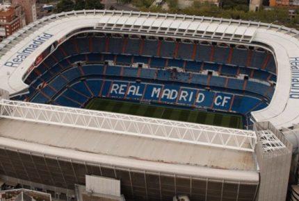 Prestan el Santiago Bernabéu para almacenar material sanitario