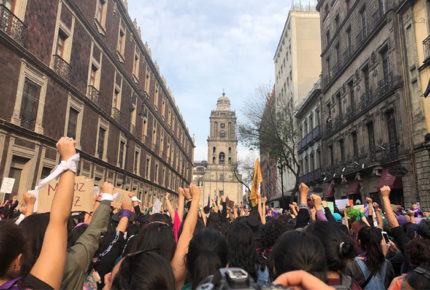 FGJ investiga a seis sujetos por agredir a manifestantes del 8M